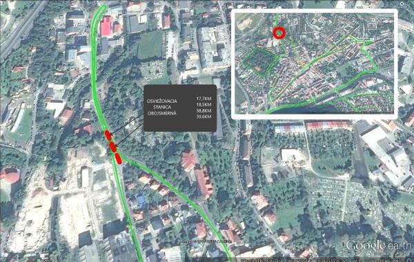 Osviezovacia stanica Lazovná